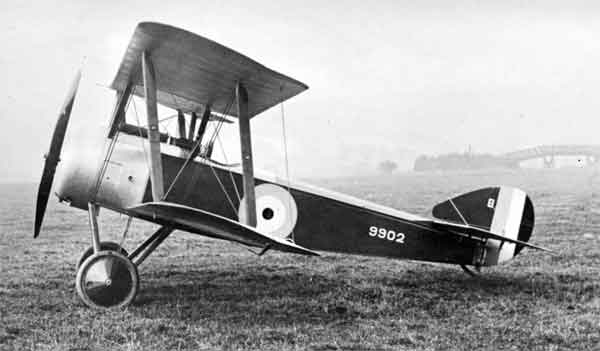 X003-2602/14285 Sopwith Pup, serial 9902, port side view, Beardmore Works, Dalmuir, 1916