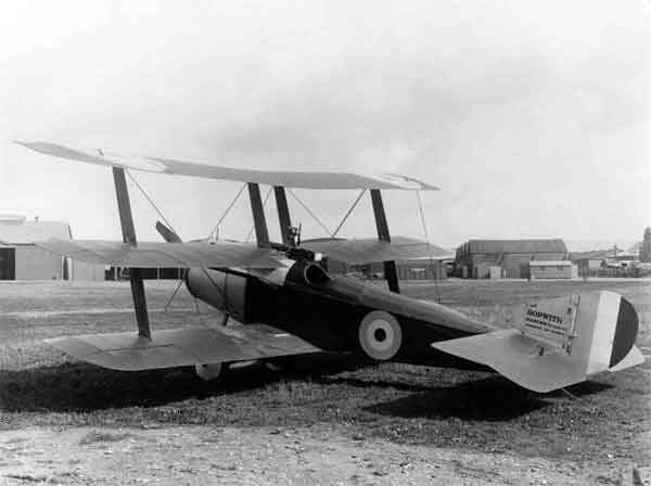 X003-2602/14825: Sopwith Triplane (Hispano Suiza), serial N509, photographed at Brooklands in the autumn of 1916