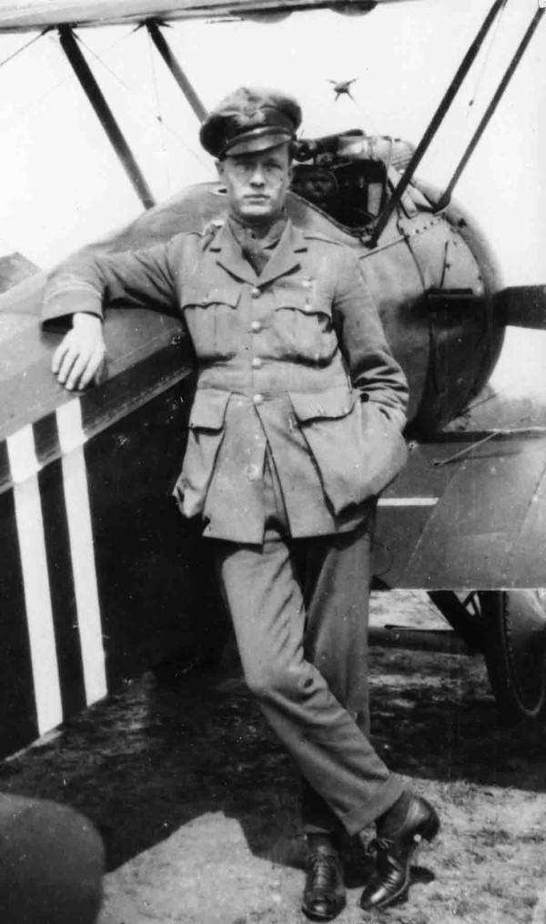 X003-2602/15040: Capt Roy Brown, 1918