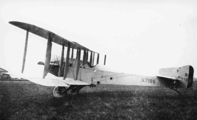 X003-2602/15919: Blackburn-built Sopwith Cuckoo, serial N7196, probably in 1919.  This image shows the matte light grey scheme adopted for the planned dawn attack on the High Seas Fleet.