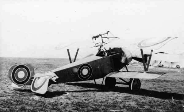 X003-2602/21929: Nieuport 16, Imperial Russian Army Aviation Corps, during 1916 or 1917.