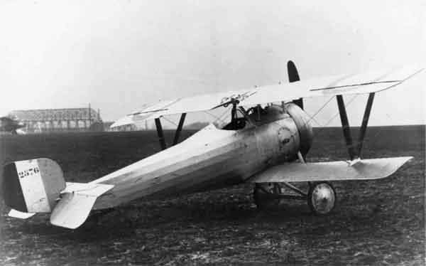 X003-2602/22019: Nieuport 17bis, serial N2576, probably during 1916.