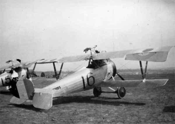 X003-2602/22022: Nieuport 17bis, serial N3195, (16), 6 Squadron, RNAS, France, April 1917.