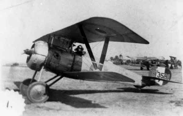 X003-2602/22083: The same aircraft as above, probably photographed at Aboukir in 1918 or 1919.