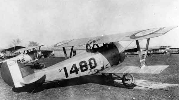 X003-2602/22094: Nieuport 24, serial N3204, (1480), USAAS, probably at Issoudun, probably during 1918.