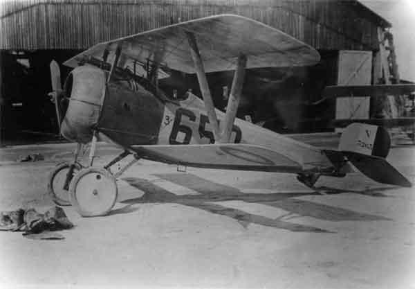 X003-2602/22099: Nieuport 24bis, serial N3263, (650), Third Aviation Instruction Center, USAAS, at Issoudun, 1918.
