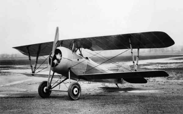 X003-2602/22119: Nieuport 27, USAAS, between 1918 and the early 1920s. This aircraft was possibly serial 94098, (P-153), possibly photographed at McCook Field.