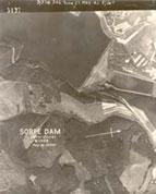 Damage to Sorpe Dam