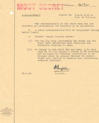 Letter from Air Commodore S.O. Bufton