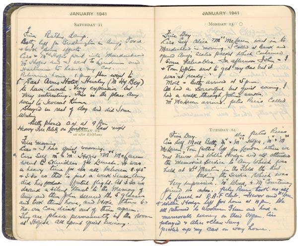 Will Johnson's Diary