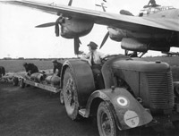 WAAF armourers preparing a bomber aircraft for an operation