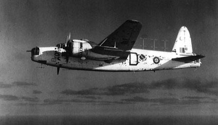 A Vickers Wellington XI of No 244 Squadron flying between Salalah and Masirah