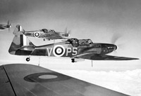 Boulton Paul Defiant turret fighters from 141 Squadron