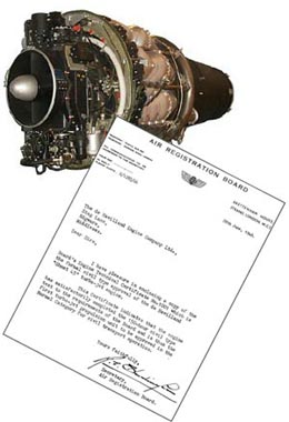 Ghost engine & test certificate