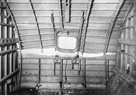 G-ALYU fuselage failure - inside