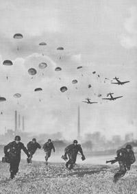 Operation Adler paratroops