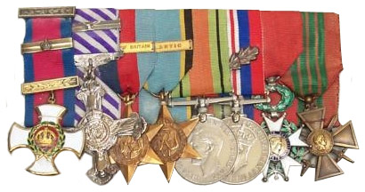 Medals of Group Captain D R S Bader