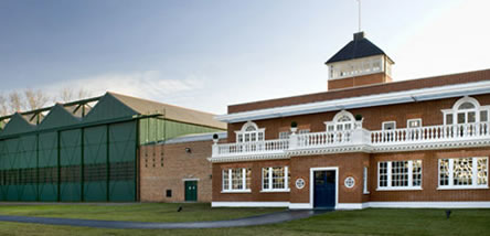 The Restored Grahame-White Factory and Watch Tower