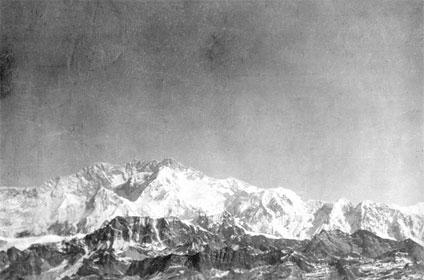 The Himalaya Mountain range