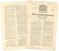 The London Gazette, Dam Busters Decorations