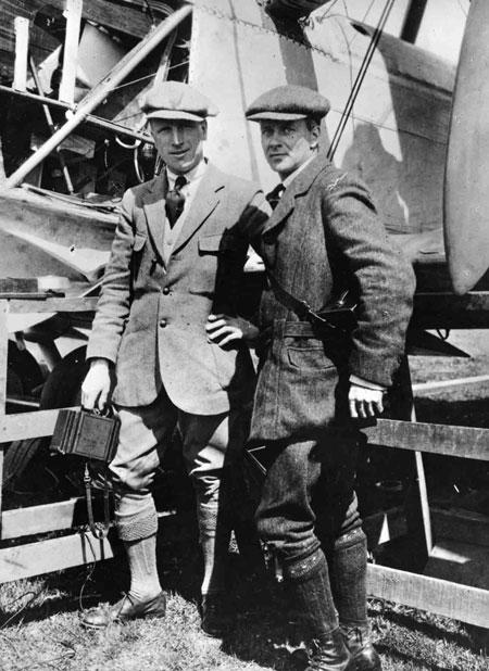 X003-2602-9575: Capt John Alcock and Lt Arthur Whitten Brown