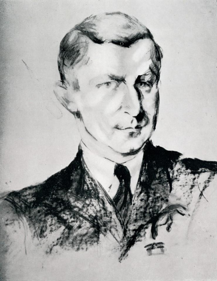 Bust-length portrait of Pilot Officer Wladyslaw Nowak
