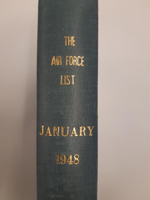 Air Force List January 1948