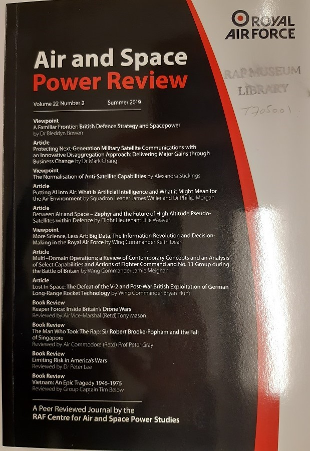 Air and Space Power Review 2019