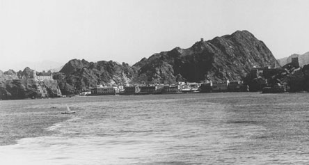 Muscat Harbour in the 1930s
