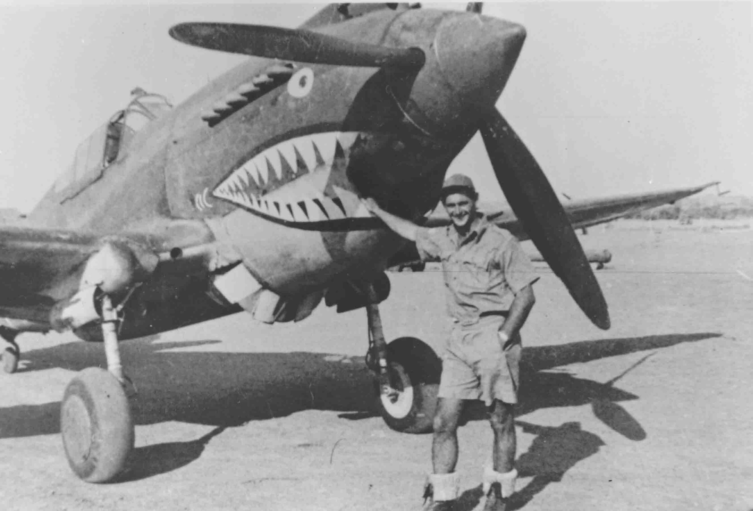 Curtiss P-40B of the American Volunteer Group, (RAFM P001001)