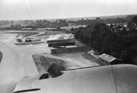 RAF Kenley as seen from a German bomber on 18 August. This was the day the Luftwaffe expected to destroy the Royal Air Force; it wasn't.