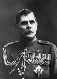 Hugh Trenchard was responsible for the formation of the RAF and the first Chief of the Air Staff. Although he resigned in 1918 he resumed the post in 1919 until his retirement in 1929.