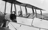 Pilot and instructor in Armstrong Whitworth F.K.3