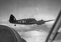 Beaufighter equipped with Airborne Interception radar (A.I. Mk IV)