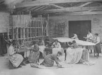 Seamstresses in workshop