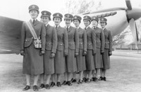 WRAF Officer Cadets at their Passing Out Parade