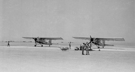 Scottish Aviation Pioneer Aircraft  of the Sultan of Oman's Air Force circa 1960