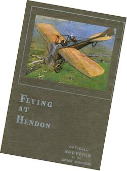 Hendon air show souvenir programme, 1912