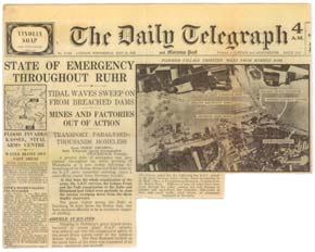 Daily Telegraph Dam Busters report