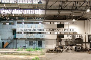 The old and the reborn Claude Grahame-White Factory.
