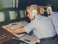 WRAF personnel working in Air Traffic Control