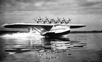 The huge Dornier Do X is an example of how Germany circumvented the Treaty of Versailles. This flying boat was financed by the German Transport Ministry and manufactured at a specially designed factory on the Swiss part of Lake Constance. When it first appeared in 1929 it was the largest, heaviest, and most powerful flying boat in the world.