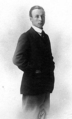 A young Alan Cobham