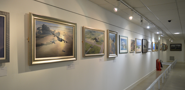 The Guild of Aviation Artists Gallery at our Cosford Site