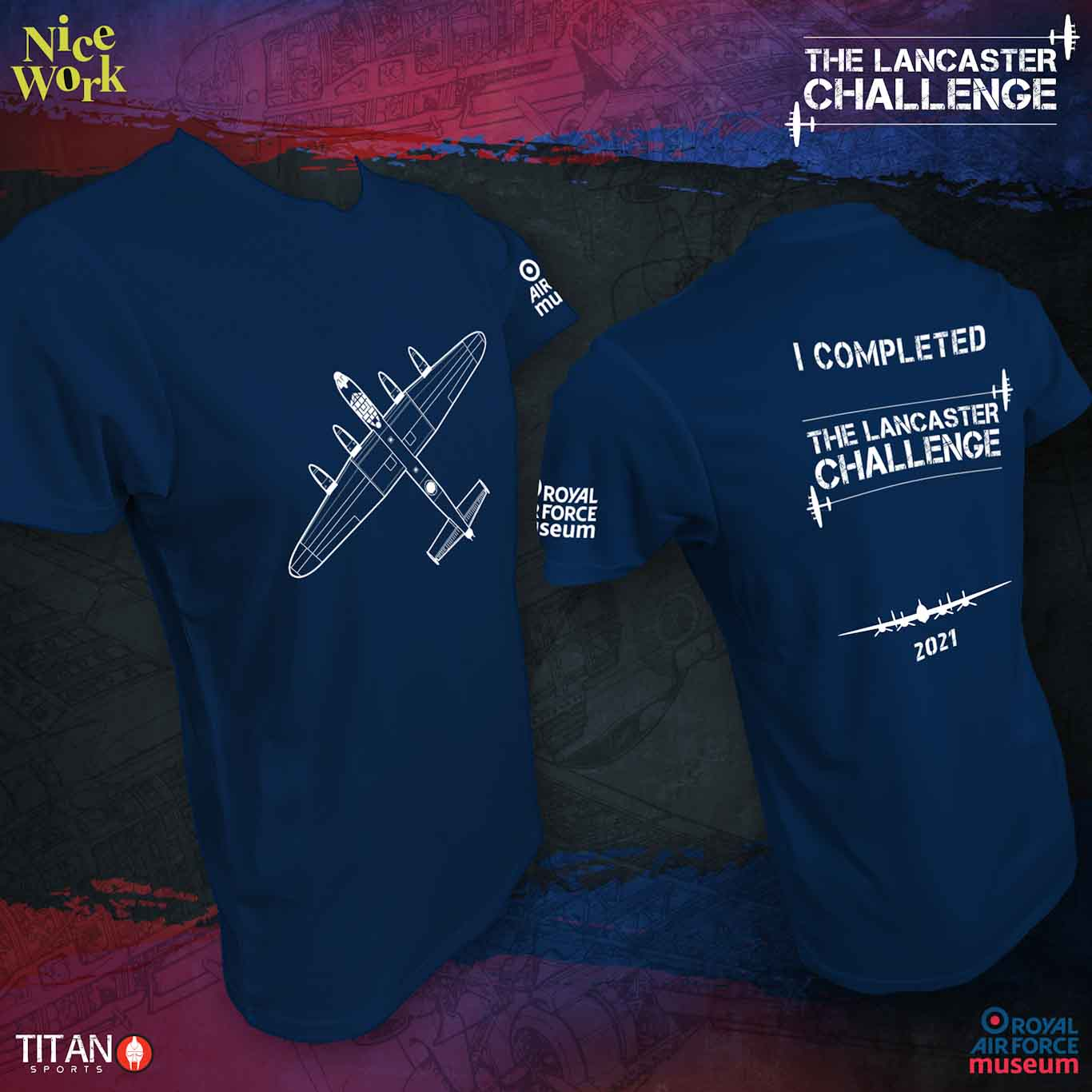 Lancaster Challenge T-shirt