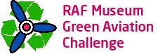 The RAF Museum Green Aviation Challenge Logo