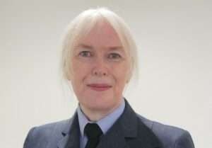 Caroline Paige - the first transgender officer to transition and openly serve in the UK Armed Forces.