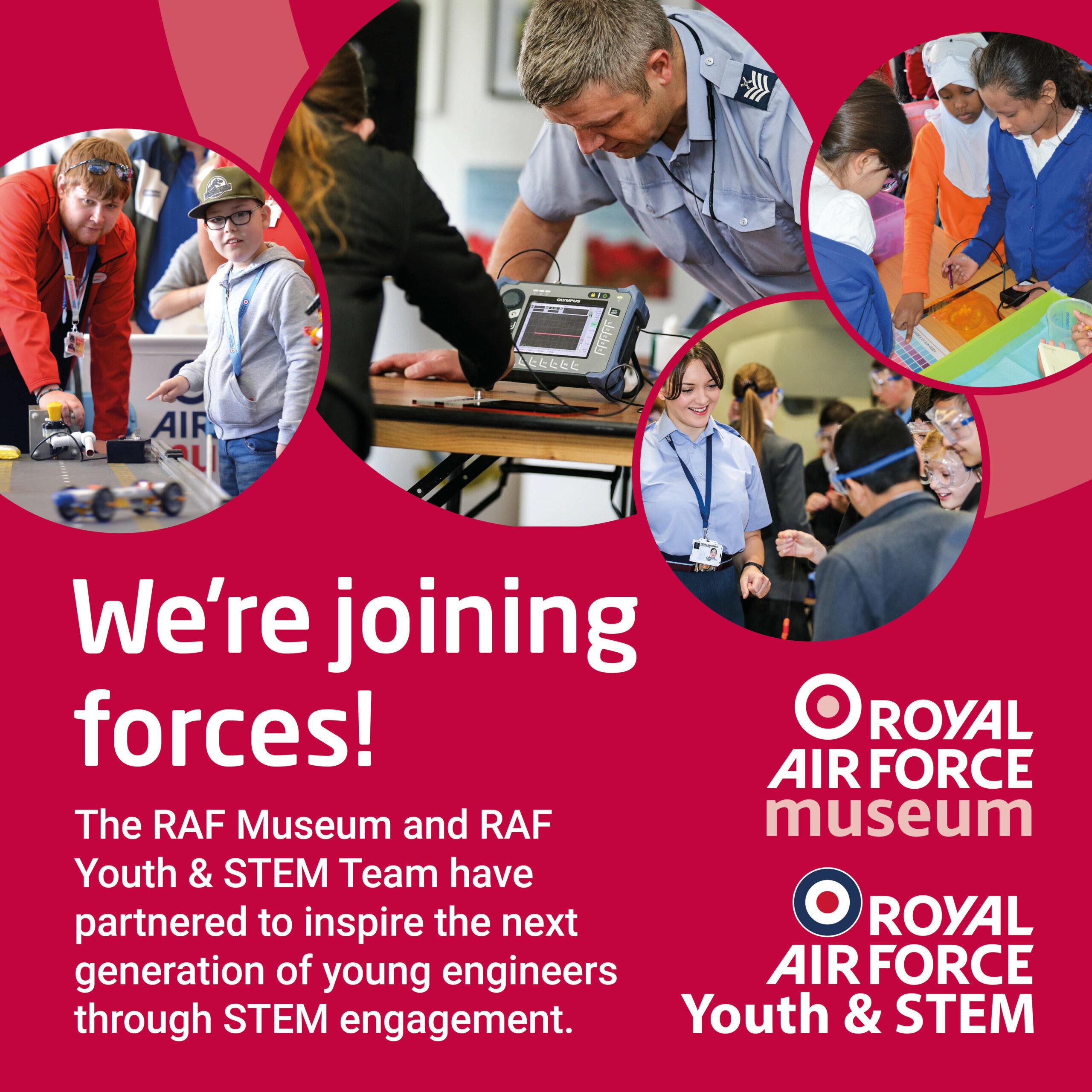 RAF Museum and RAF Youth & STEM Team