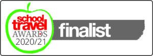 School travel awards 2020/21 finalist logo