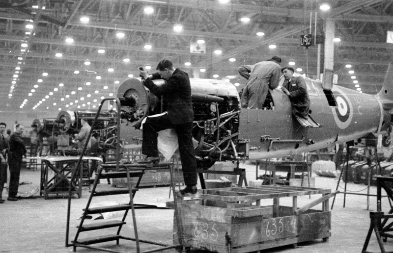Spitfire production
